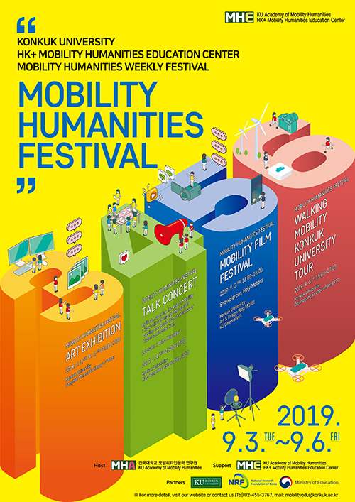 2019 Mobilty Humanities Festival poster